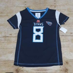 NFL Team girls apparel #8 Titans Mariota